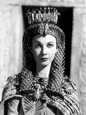 Caesar and Cleopatra, Vivien Leigh, 1945 Photo
