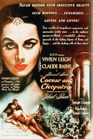 Caesar and Cleopatra Poster