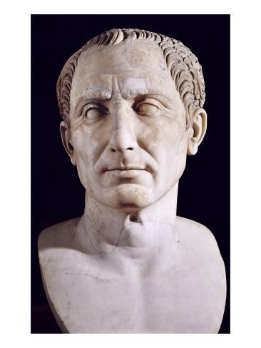 Caesar, Gaius Julius (101-44 BC) Art Print