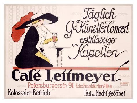 Cafe Leitmeyer Giclee Print