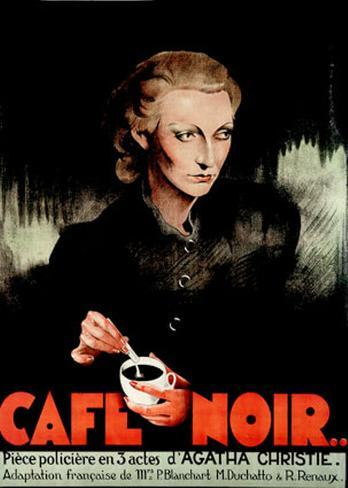 Café Noir Art Print