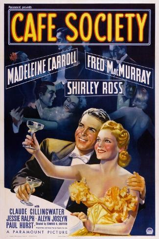 Cafe Society Art Print
