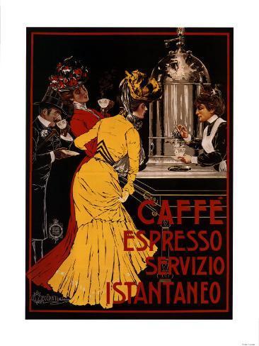 Caffe Espresso Art Print