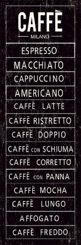 Caffe Art Print