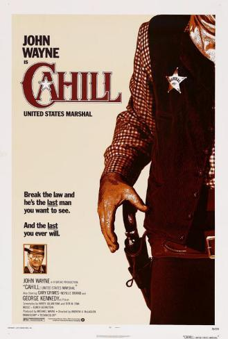Cahill U.S. Marshal Poster