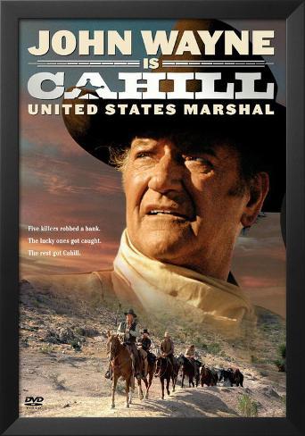 Cahill U^S^ Marshal Framed Art Print
