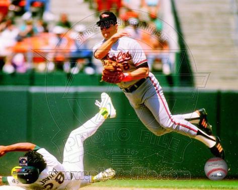Cal Ripken Jr. 1989 Action Photo