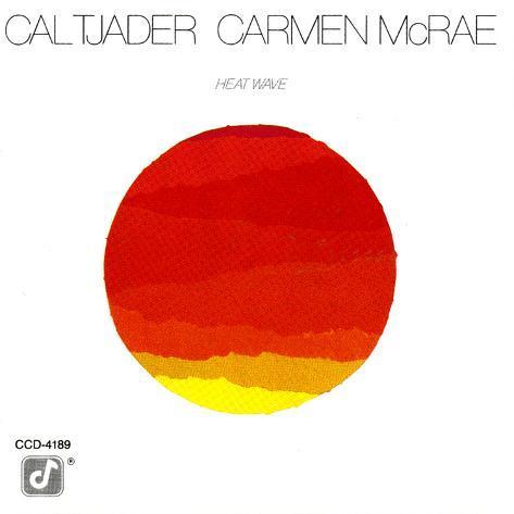 Cal Tjader and Carmen McRae - Heat Wave Art Print