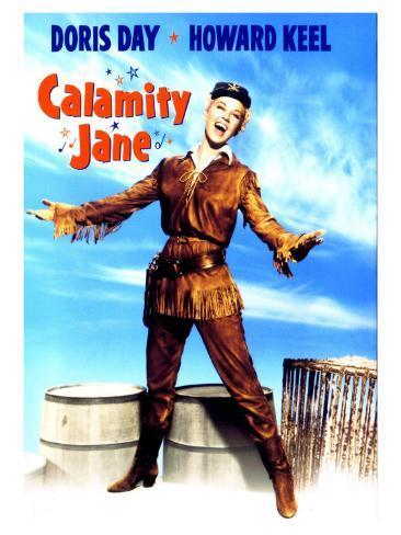 Calamity Jane, 1953 Premium gicléedruk