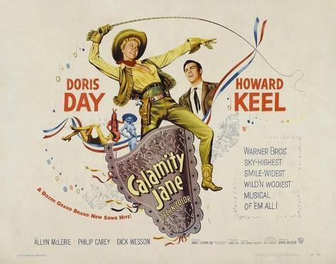 Calamity Jane -  Style Poster
