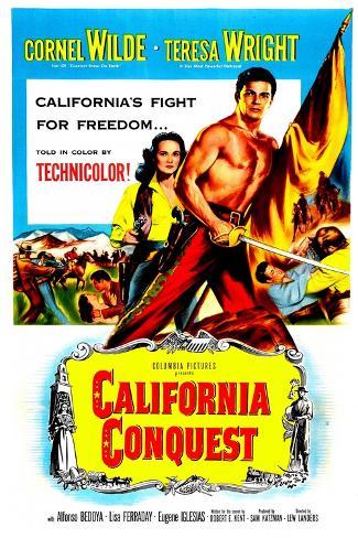 California Conquest Art Print