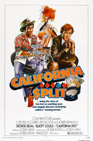 California Split, Elliott Gould, George Segal, 1974 Art Print