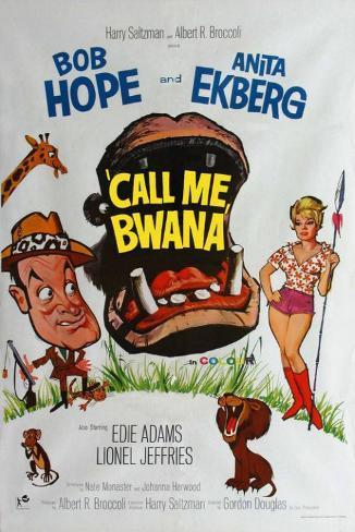 Call Me Bwana マスタープリント