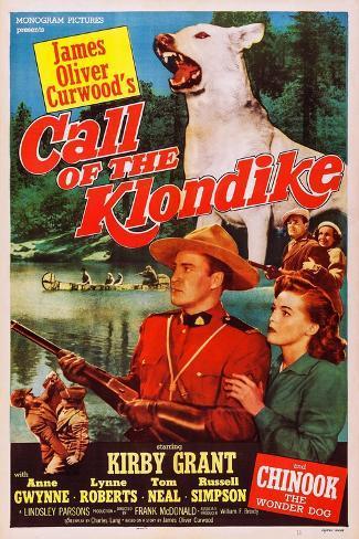 Call of the Klondike Art Print
