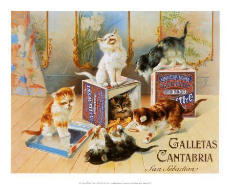 Calletas Cantabria Art Print