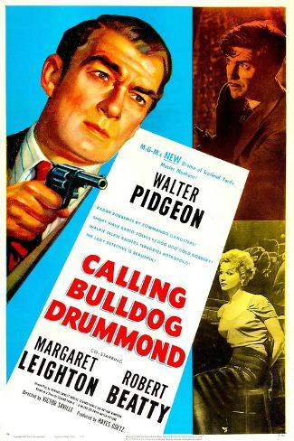 Calling Bulldog Drummond Art Print