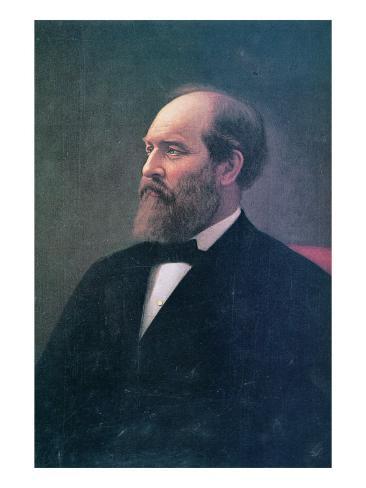 James A. Garfield Giclee Print