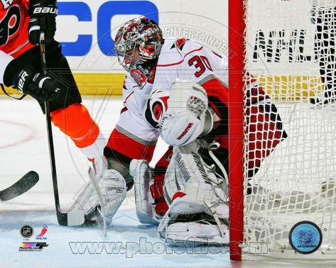 Cam Ward 2012-13 Action Photo