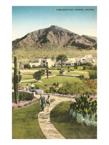 Camelback Inn, Phoenix, Arizona Art Print