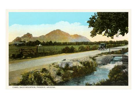 Camelback Mountain, Phoenix, Arizona Art Print