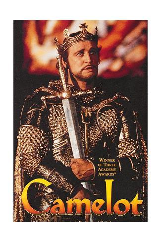 Camelot - Movie Poster Reproduction Premium Giclee Print