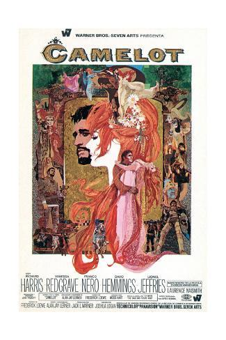 Camelot - Movie Poster Reproduction Art Print