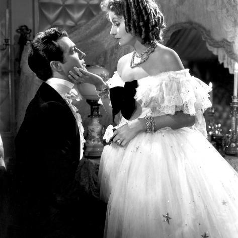 Camille, Robert Taylor, Greta Garbo, 1936 Photo