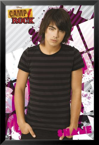 Camp Rock - Shane Lamina Framed Poster