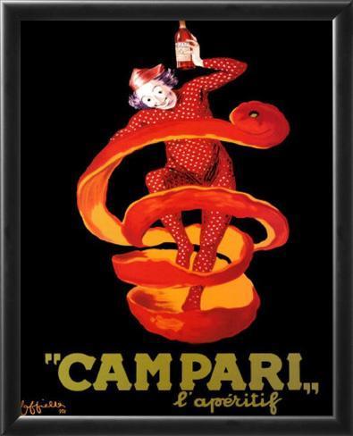 Campari Framed Art Print