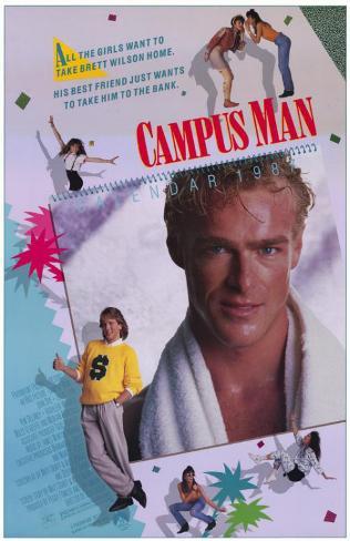 Campus Man Poster