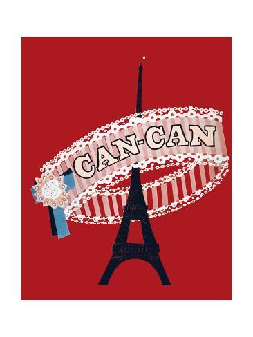 Can-Can Art Print