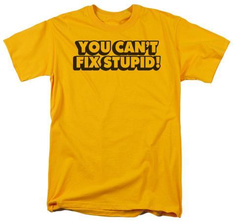 Can't Fix Stupid T-Shirt
