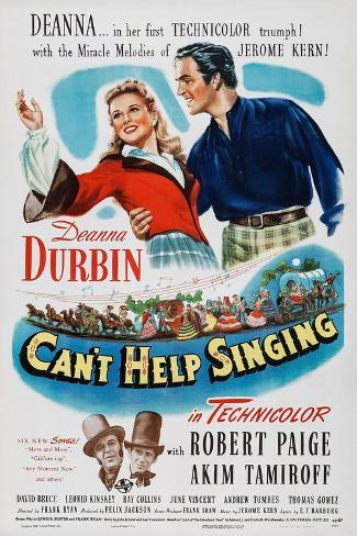 Can't Help Singing, 1944 Art Print