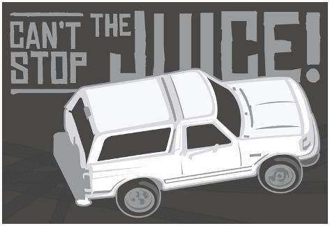 Can't Stop The Juice Poster