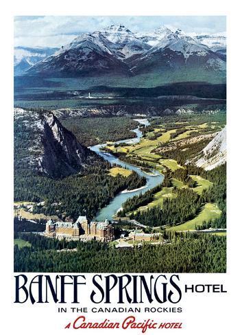 Canadian Pacific, Banff Art Print