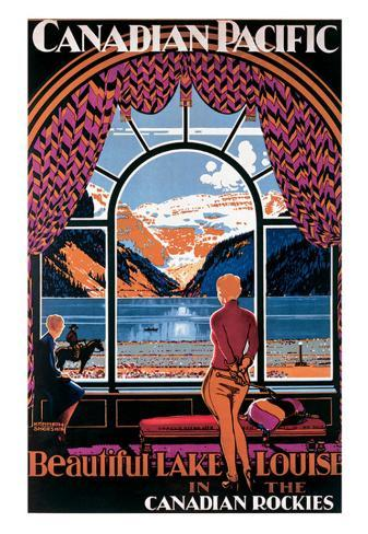 Canadian Pacific, Lake Louise Art Print