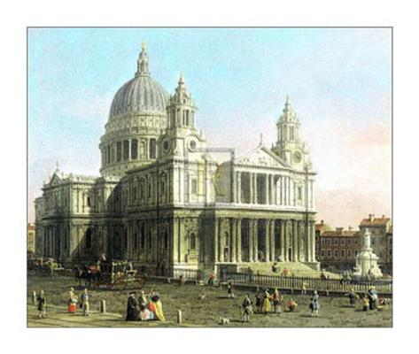 St. Paul's Cathedral Art Print