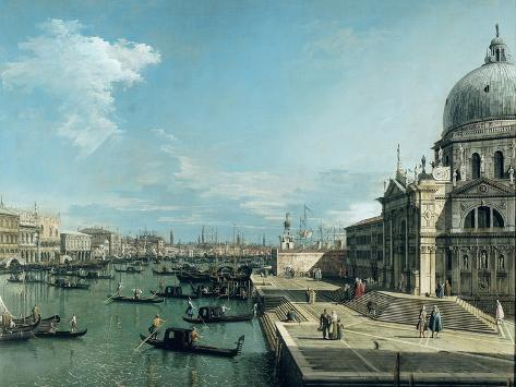 The Entrance to the Grand Canal, Venice Giclee Print
