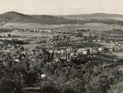 Canberra from Red Hill, Act, Australia Photographic Print
