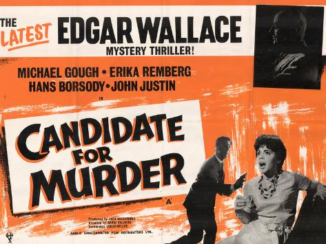 Candidate for Murder Art Print