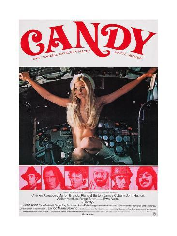 Candy, 1968 Taidevedos