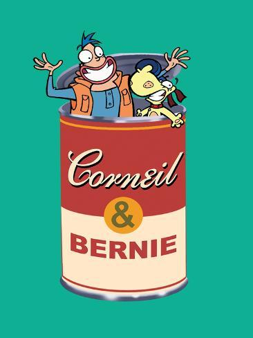 Canned Corneil and Bernie Poster