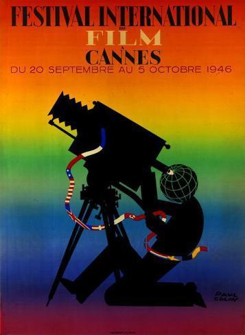 Cannes International Film Festival Masterprint