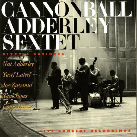 Cannonball Adderley - Dizzy's Business Art Print
