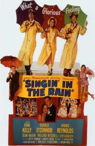Cantando sotto la pioggia Stampa master
