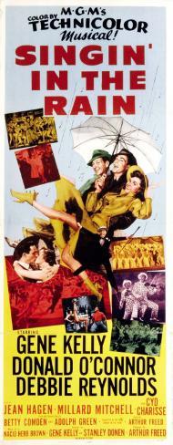 Cantando sotto la pioggia Poster