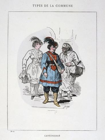 Cantinieres, Paris Commune, 1871 Giclee Print