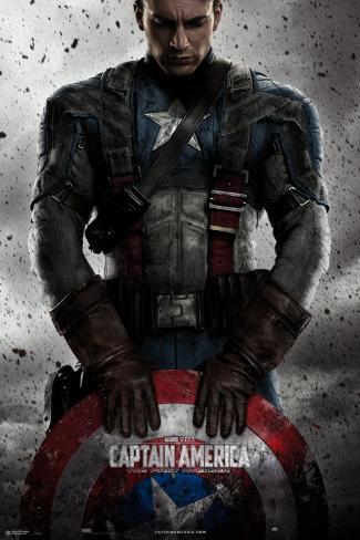 Capitán América (Marvel vintage) Póster