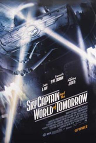 Capitão Sky e o Mundo de Amanhã Pôster original