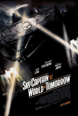 Capitão Sky e o Mundo de Amanhã Pôster dupla face